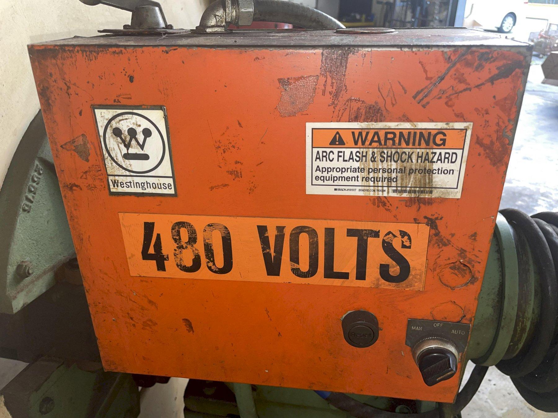 """4000 LBS X 18"""" LITTELL MODEL #40-18 MOTORIZED COIL REEL / UNCOILER: STOCK #15433"""