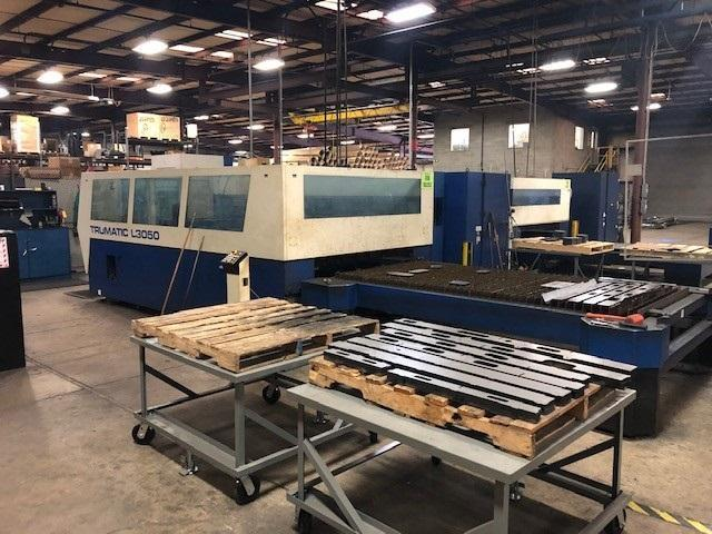 2004 Trumpf L3050, 5x10, 5000 Watt Co2 Laser