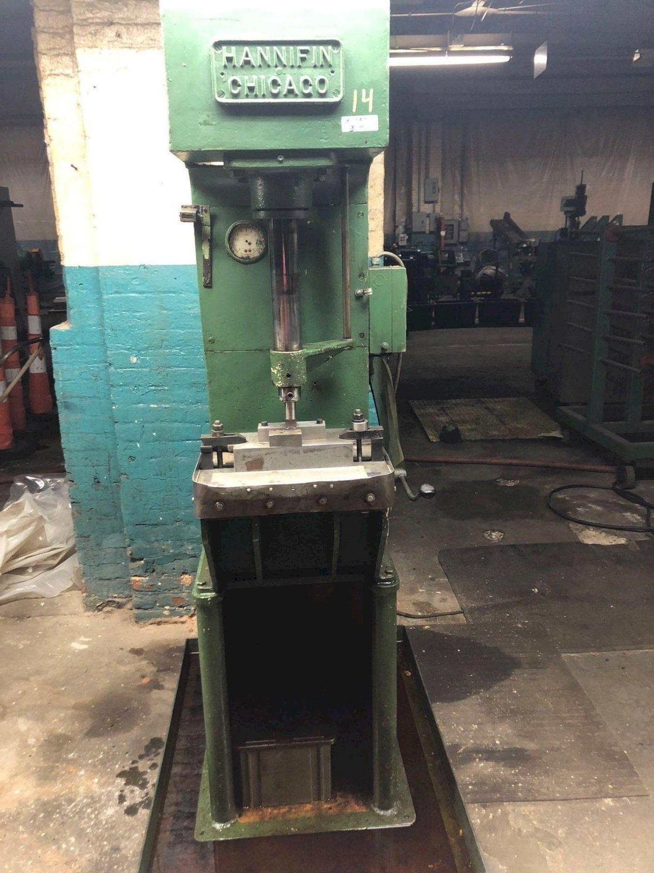 5 Ton Hannifin #F-50 Hydraulic Press