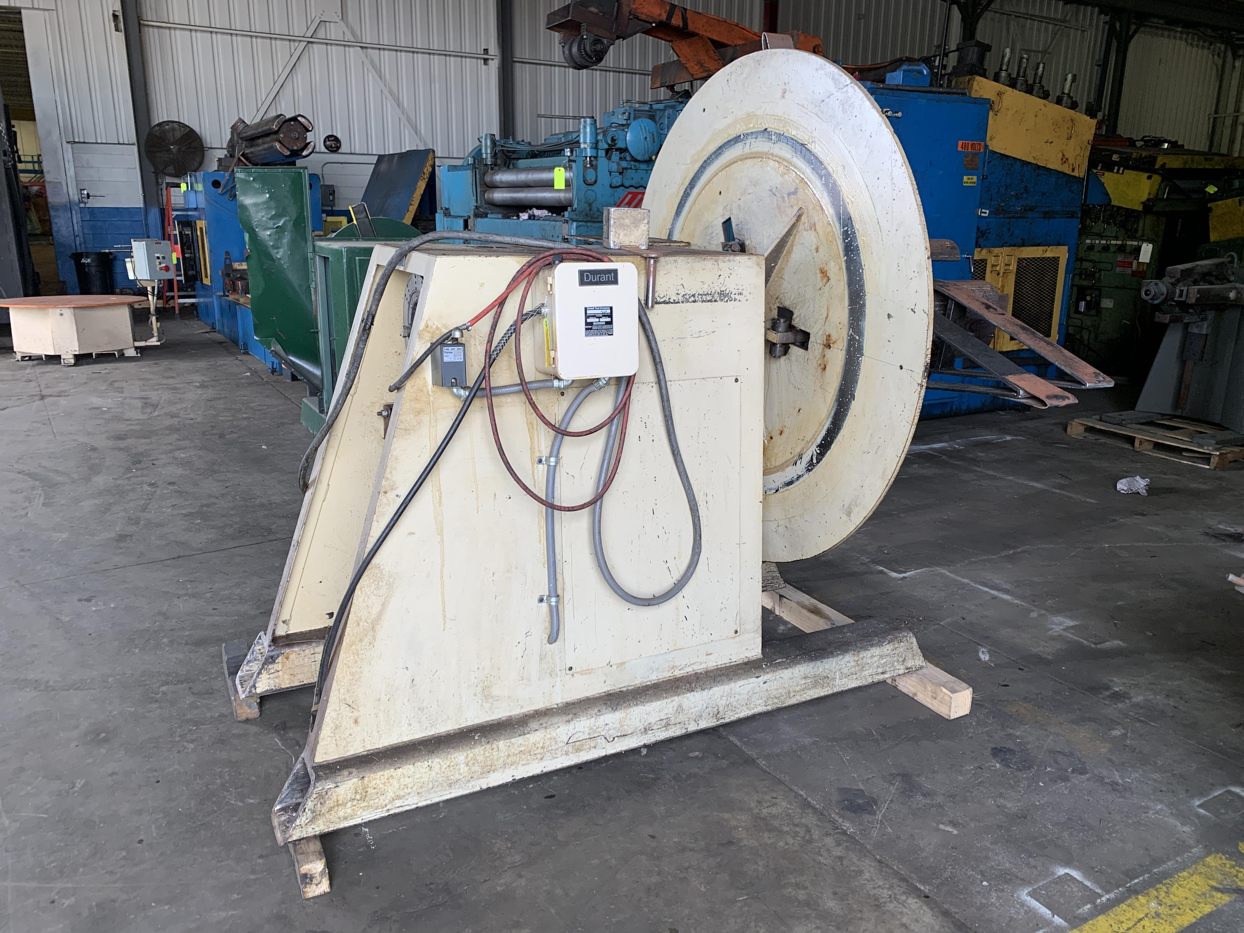 Durant Motorized Coil Reel Uncoiler 10,000 Lbs.