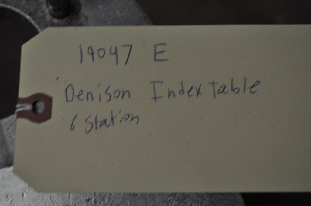 6 Station Denison Roary Index Table