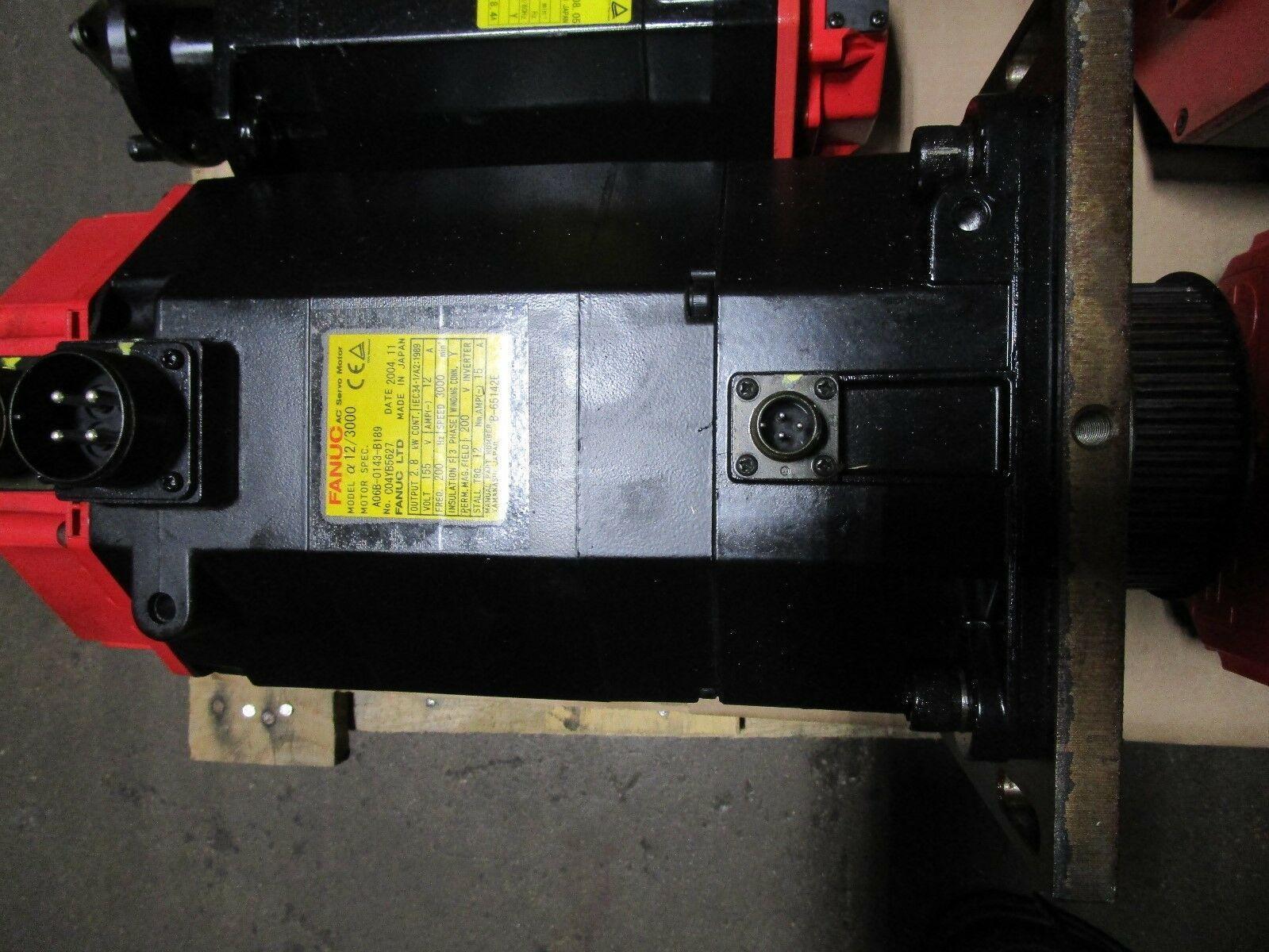 Fanuc Servo Motor A06B-0143-B189