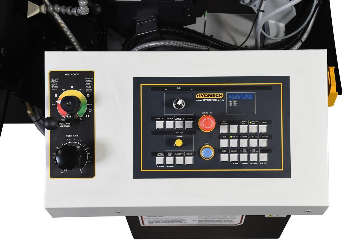 """NEW 16""""H x 20""""W HYD-MECH MODEL S-23P SEMI-AUTOMATIC HORIZONTAL PIVOT BAND SAW"""
