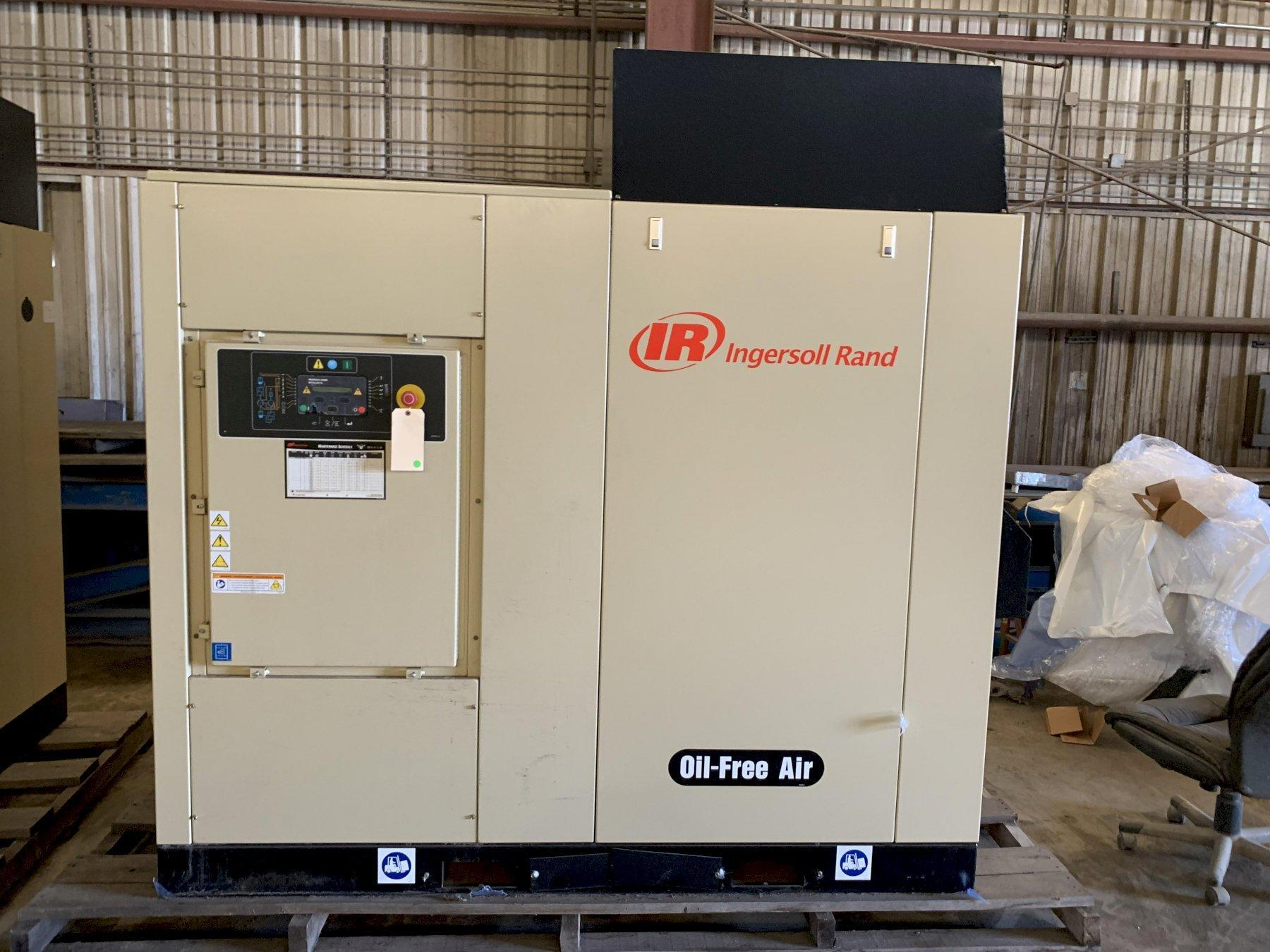 NEVER USED, 2016 INGERSOLL-RAND SIERRA-SM45A OIL-FREE ROTARY SCREW AIR COMPRESSOR