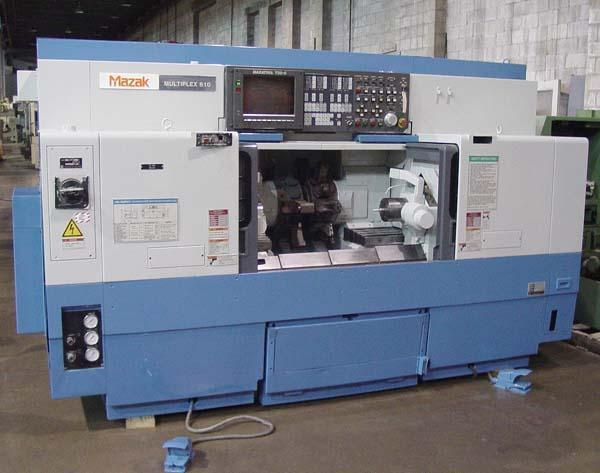 Mazak Multiplex 610 Twin Spindle CNC Turning/Mill Center