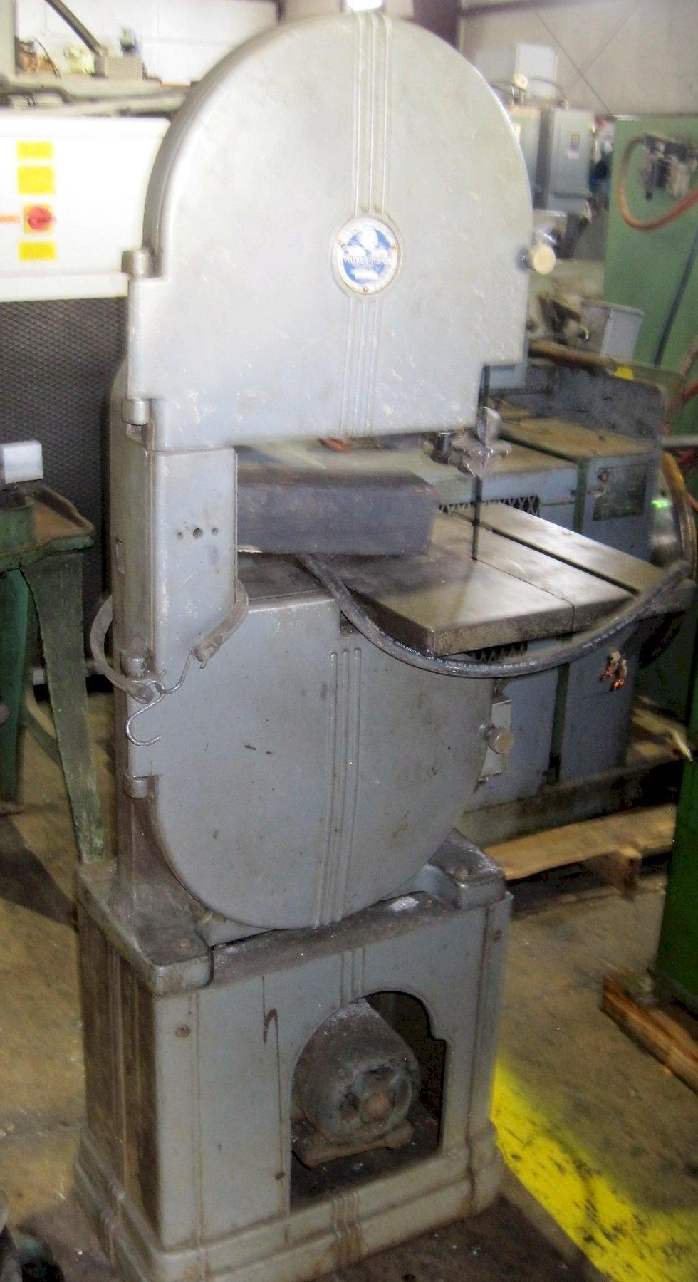 "Walker Turner Vertical 14"" Model 32 Band Saw"