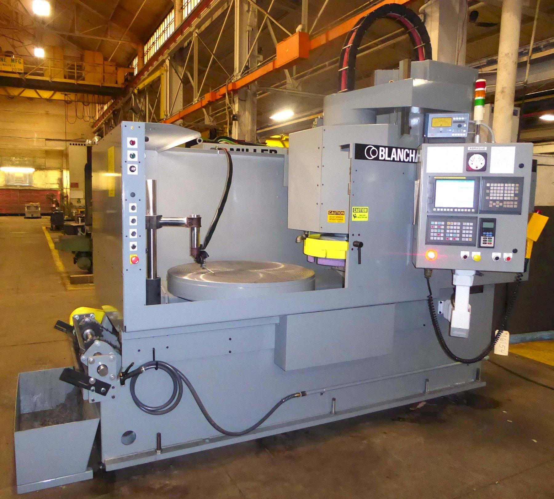 """Blanchard #22HACD-42, 42"""" Vertical Spindle Rotary Surface Grinder with  A/B PLC, Servo Drive, Re-manufactured w/ Warranty"""