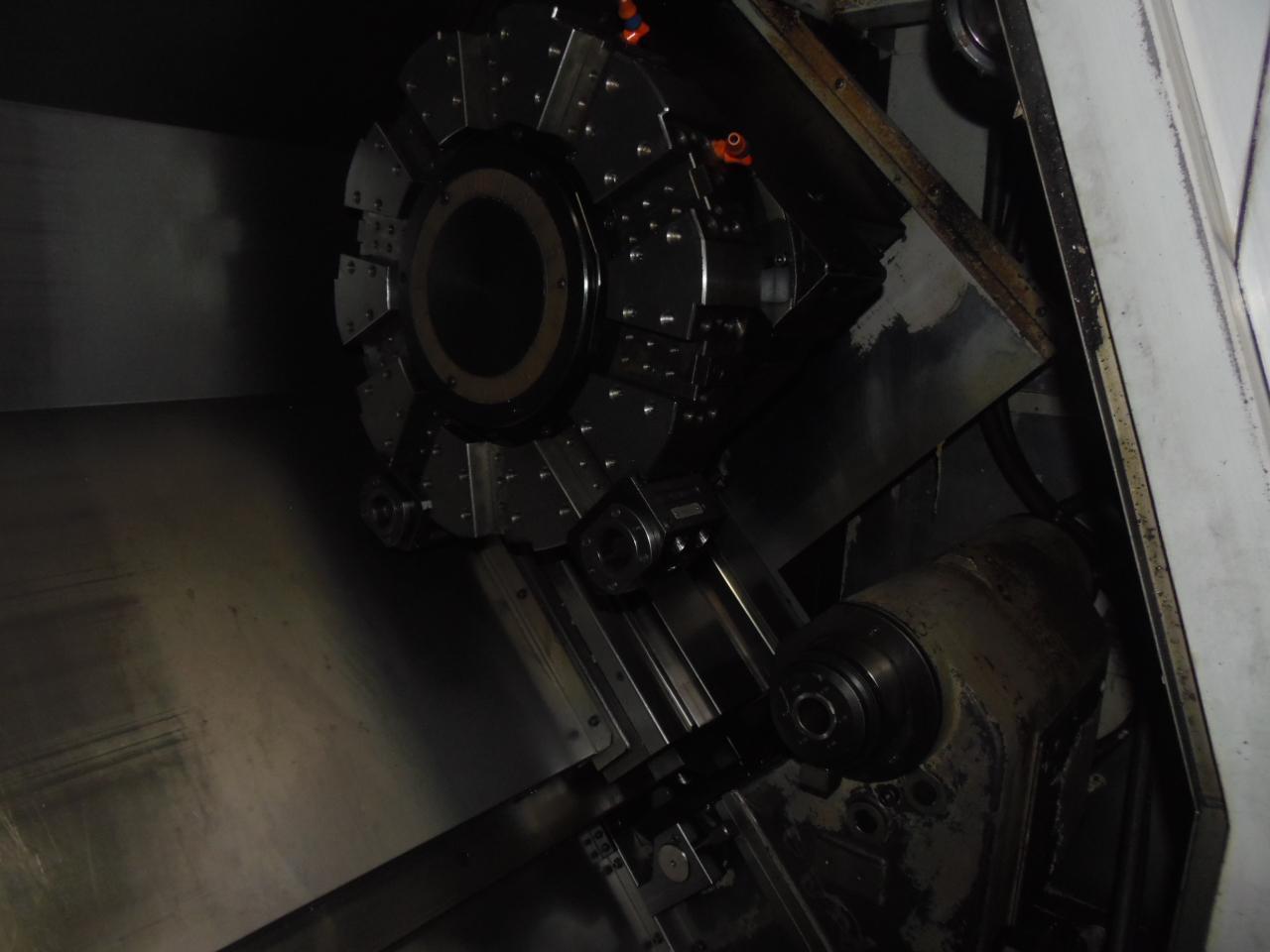 "MORI SEIKI SL-300B/700, FANUC 18iT CTRL, 28"" X 29""CTRS, 4"" SPINDLE BORE, 1998"