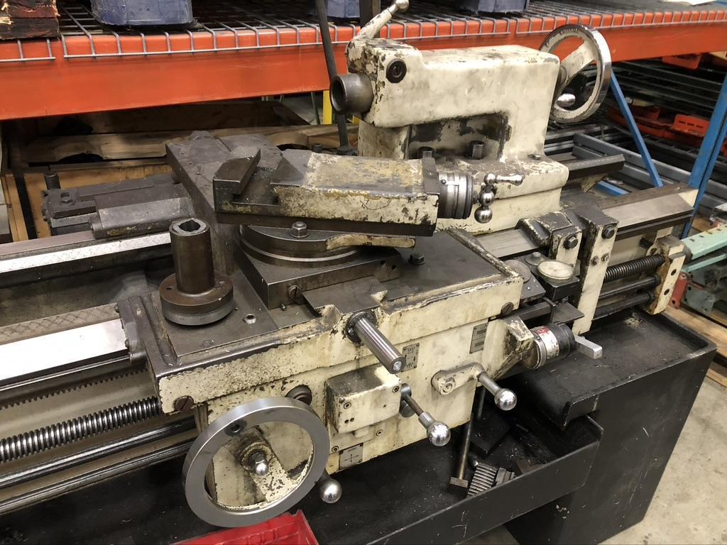 24 X 144 LEBLOND ENGINE LATHE WITH INCH/METRIC THREADING