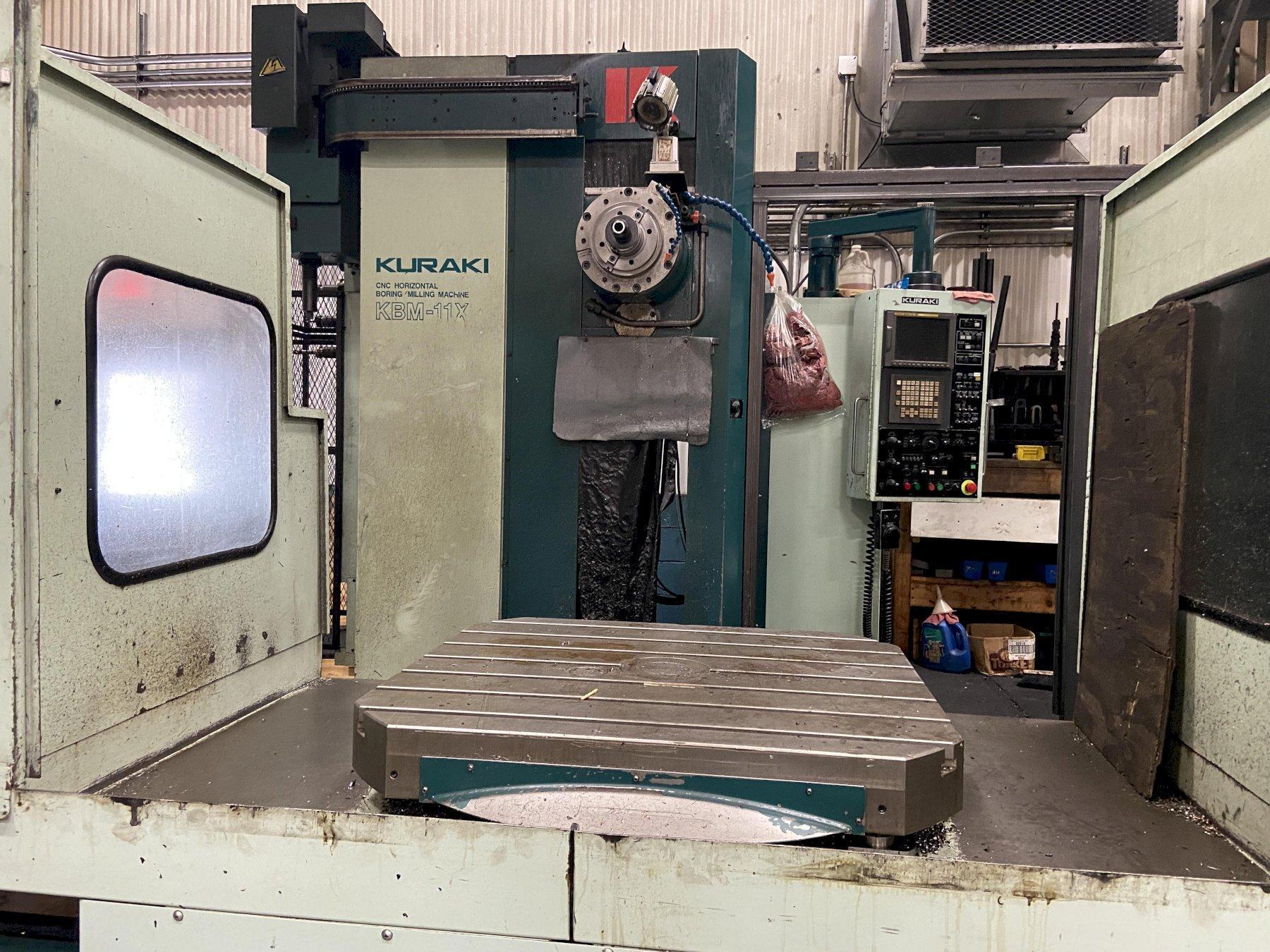 Kuraki KB11XHL CNC Horizontal Boring Mill