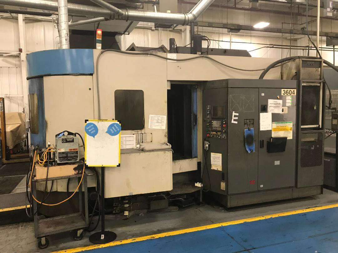 1998 TOYODA FA-550 II HORIZONTAL MACHINING CENTER