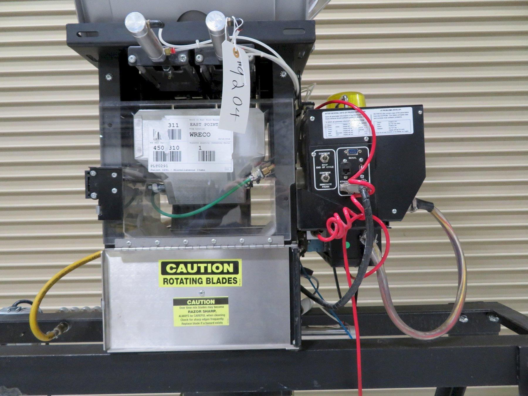 Maguire Used WSB-240 Four-Component Gravimetric Blender, Approx 750-1000 lbs/hr, Yr. 2010
