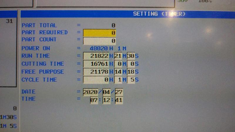 MAZAK2013/1 Mazak Vortex 5-axis, Model 1400/160M  Vertical Machining Center
