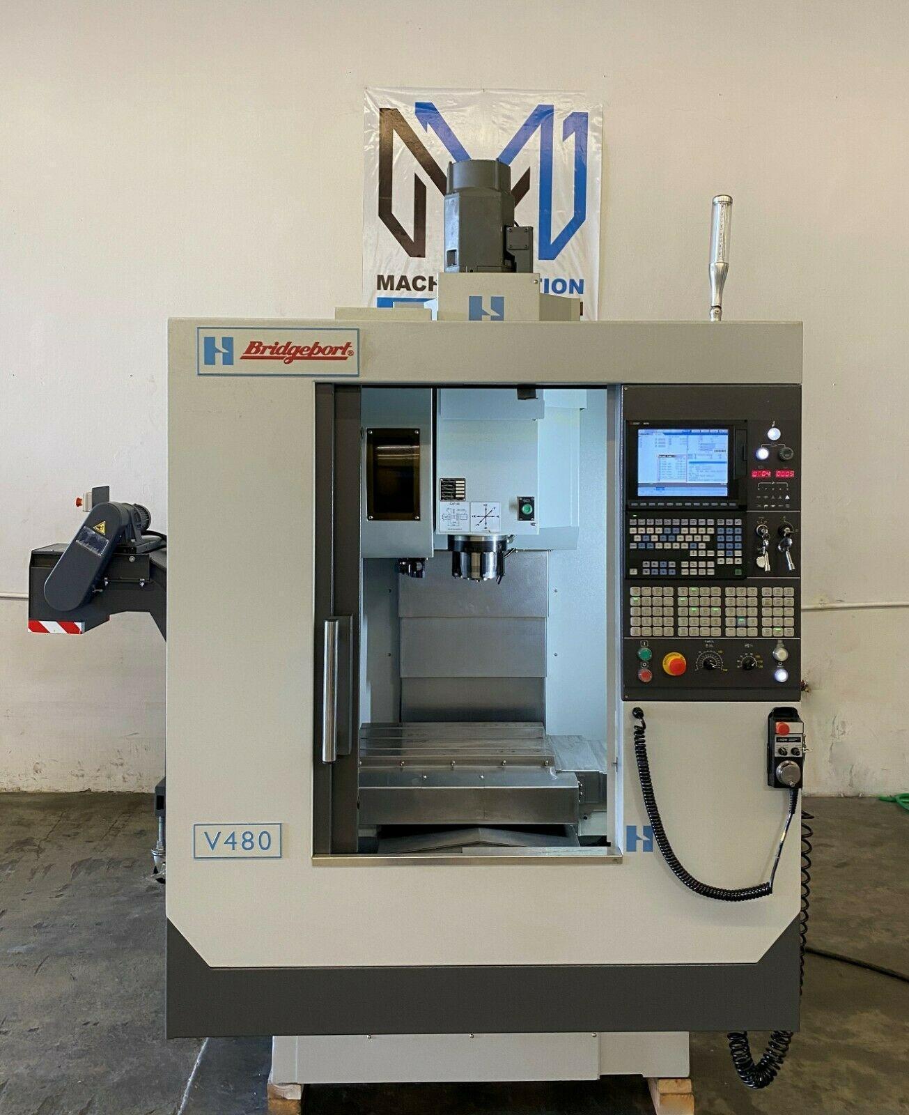 HARDINGE BRIDGEPORT V-480 CNC VERTICAL MACHINING CENTER