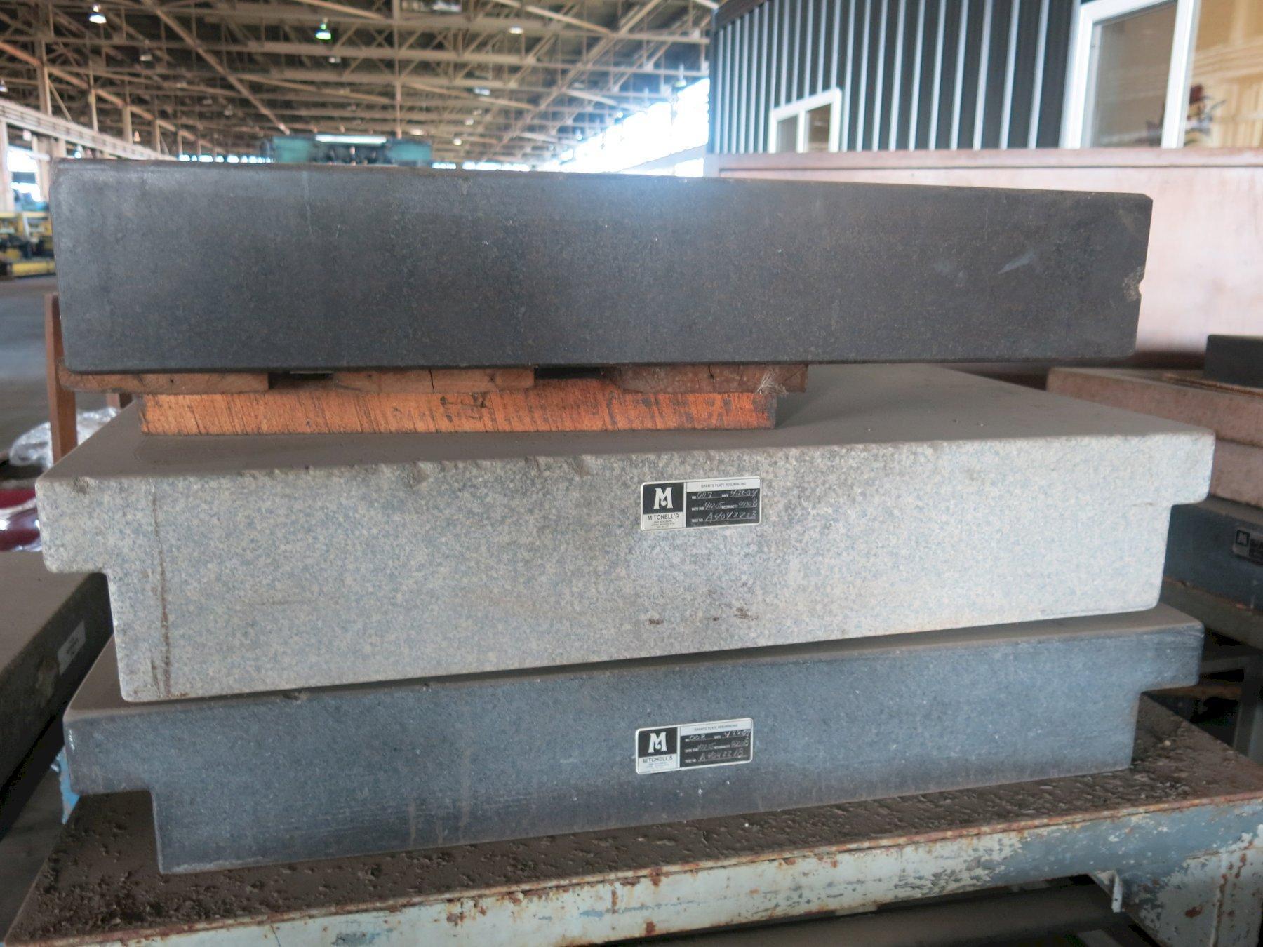 "Mitchell's 24"" x 36"" x 4.5"" Grey Granite Surface Plate"