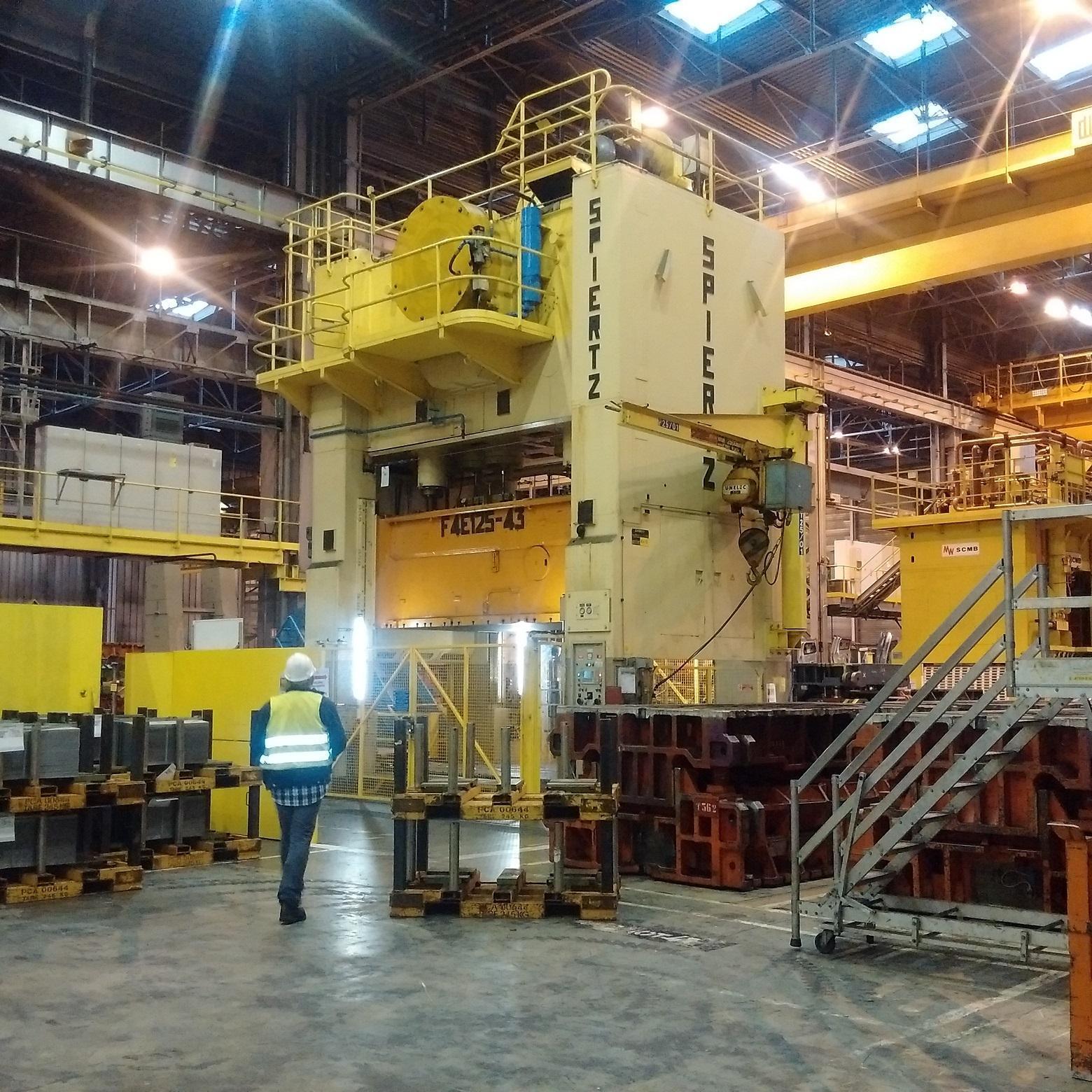 1250 Ton SPIERTZ (Schuler Group) Mechanical Press
