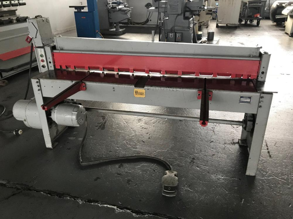 "USED FAMCO MECHANICAL SHEAR, Model 1472, 72"" x 14ga. , Stock No. 10499"