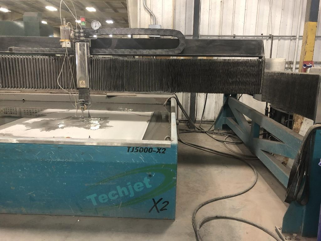 TECHNI WATERJETTechni Techjet TJ6000-X2 Waterjet Cutting System