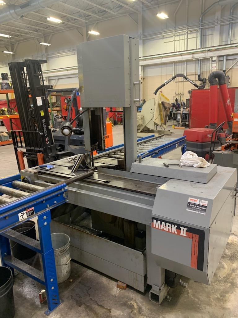 "(2012) 18"" X 22"" MARVEL SERIES 8 MARK II VERTICAL BANDSAW. STOCK # 0415821"