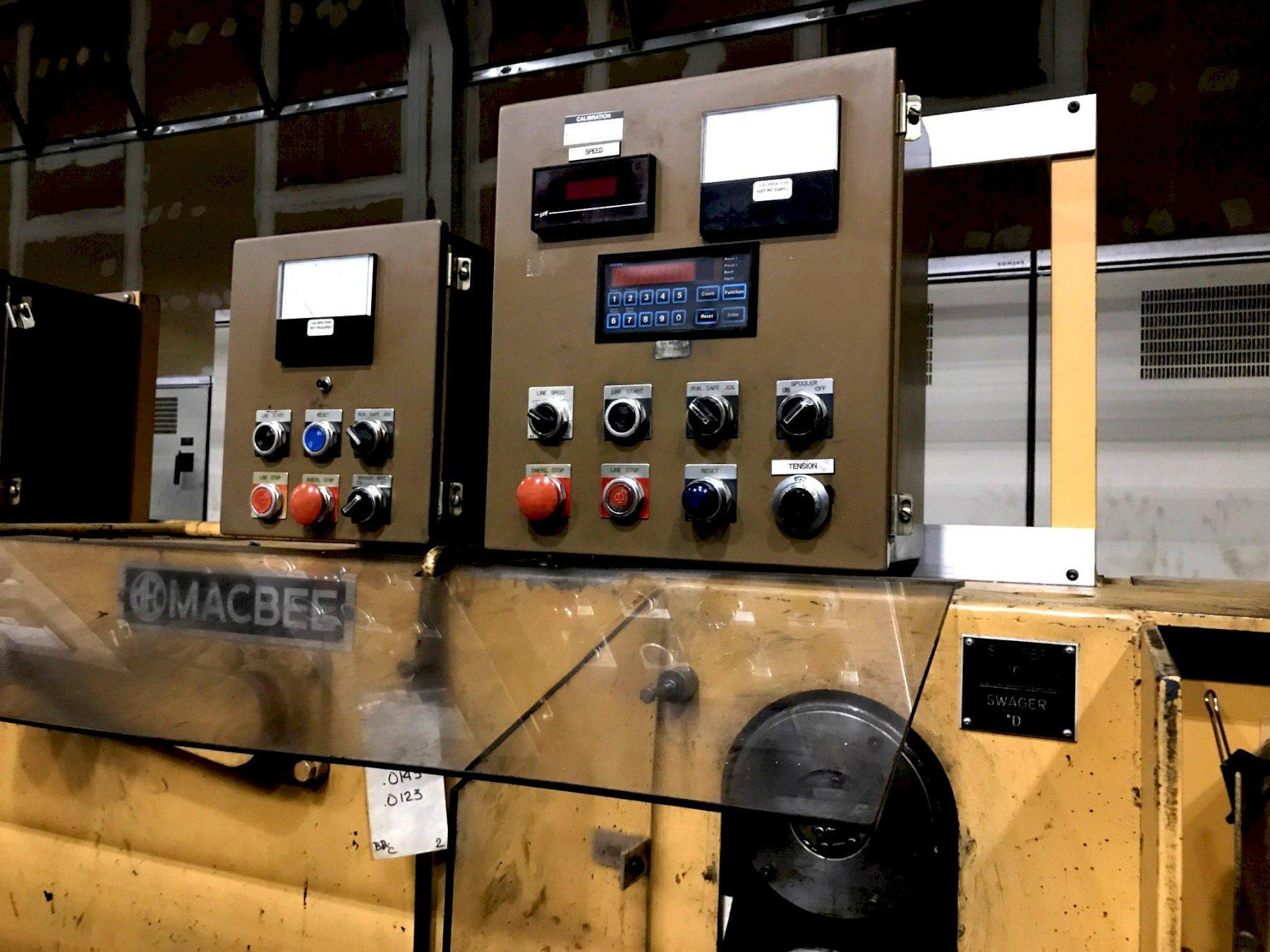 Macbee 6 Block Wire Drawing Machine