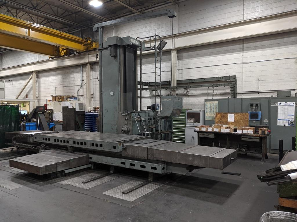 Giddings & Lewis 70-H6-T  CNC Horizontal Boring Mill