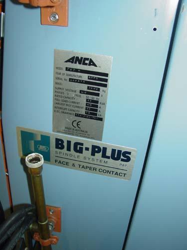 """ANCA TX-7+ CNC UNIVERSAL TOOL GRINDER, ANCA CNC Control, X=23"""", Y=16"""", Z=9.8"""", C=264 Degrees, A=360 Degrees, 49 HP, Low Hours, 2005."""