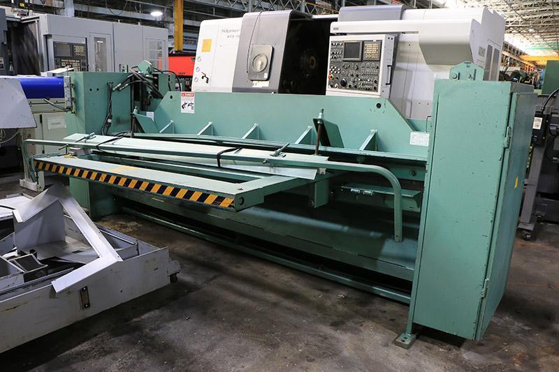 "1/4"" x 10 ft Used Betenbender Hydraulic Shear Model 10-250"