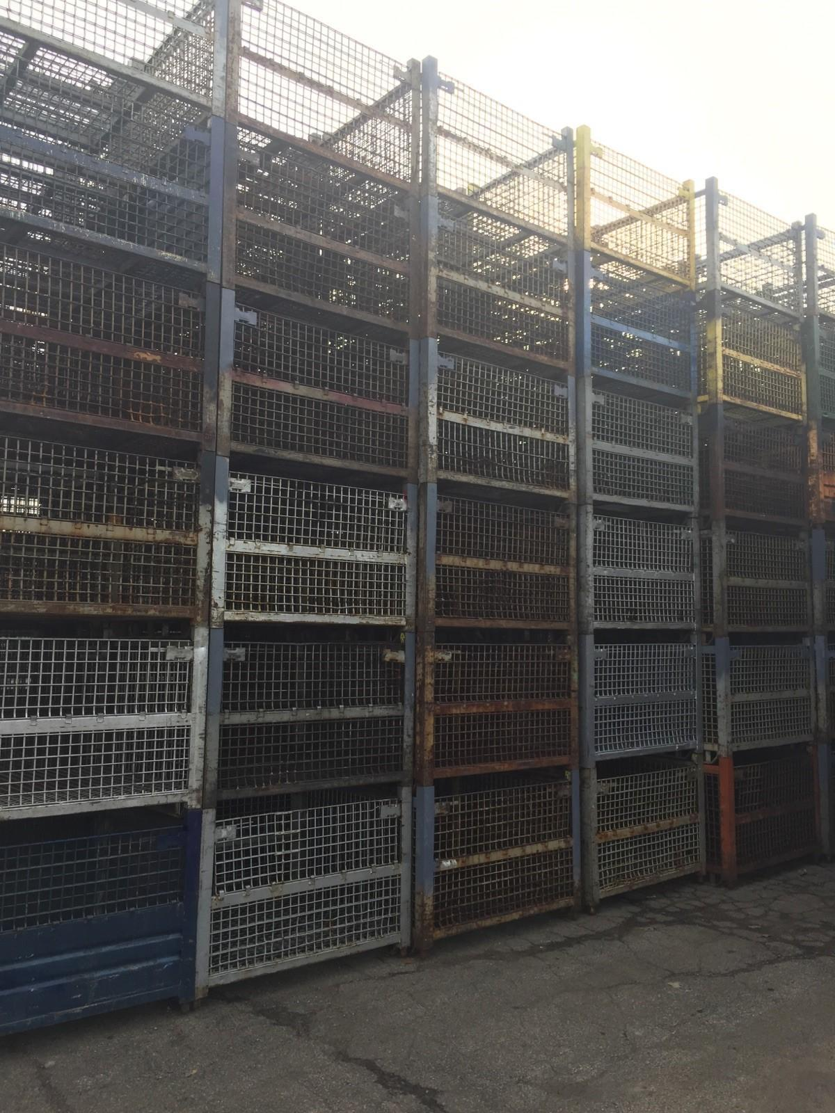 "53"" x 48"" x 38"" WIRE BASKETS / BIN / HOPPER"