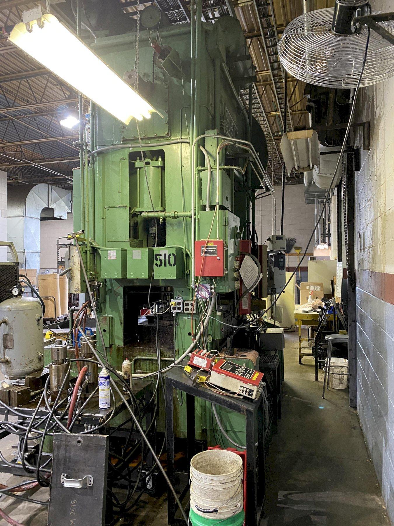 150 Ton Verson 150-C2-60T Straight Side Press