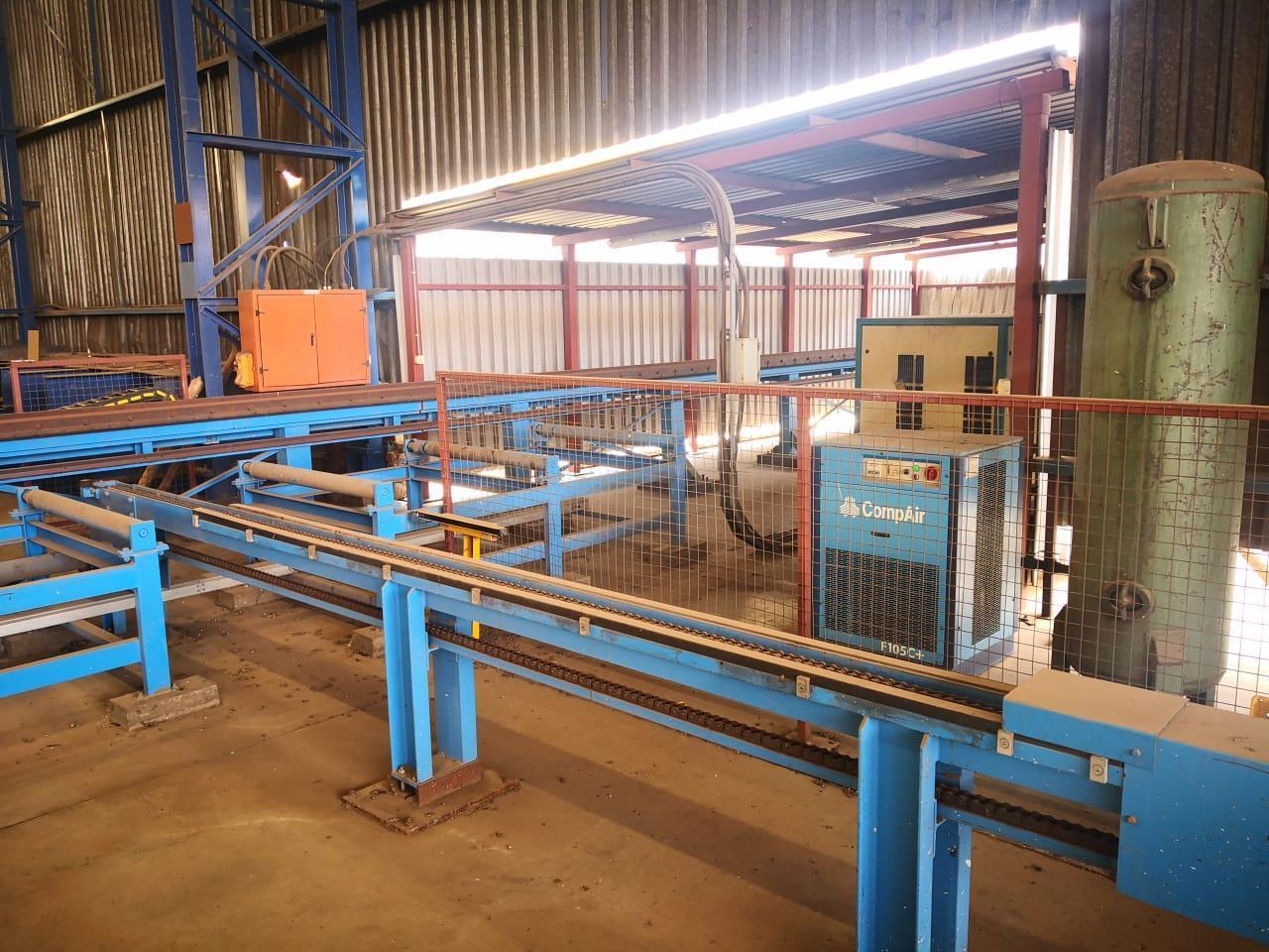 Ficep Drilling & Sawing Line Model 1203 DFB