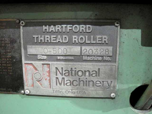 #0 National 0-500  Automated Flat Die Thread Roller