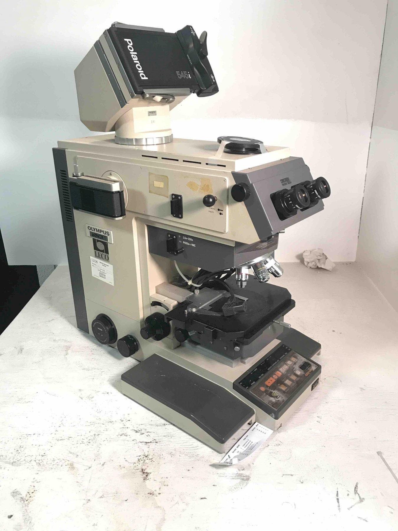 Olympus vanox-T AH2  microscope WITH CAMERAS
