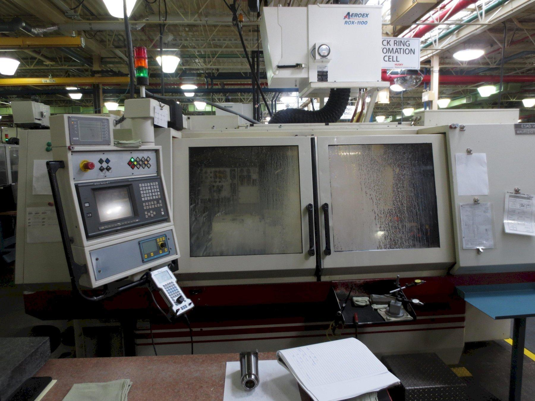 "Studer S-40 CNC Cylindrical Grinder, Fanuc 16T, 13.8"" x 39.4"" ,(2) I.D. Attachments, (1)20"" Dia Wheel, 10 Horsepower, Table Mounted Dresser, T/S,  Plunge, 2000"