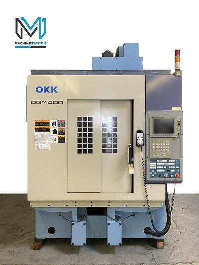 OKK DGM 400 CNC HIGH SPEED GRAPHITE MACHINING CENTER