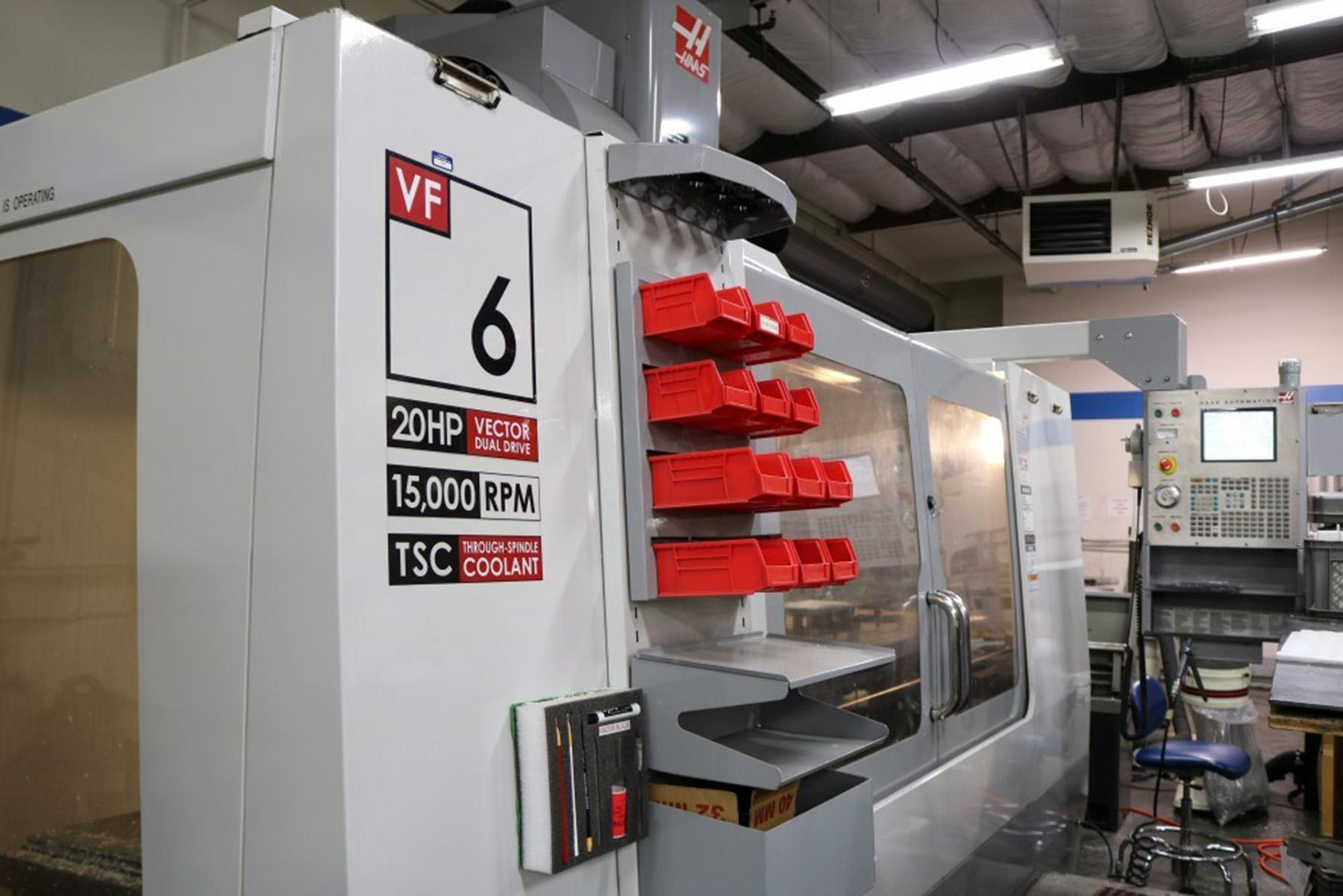 USED, HAAS VF-6D/40 CNC VERTICAL MACHINING CENTER