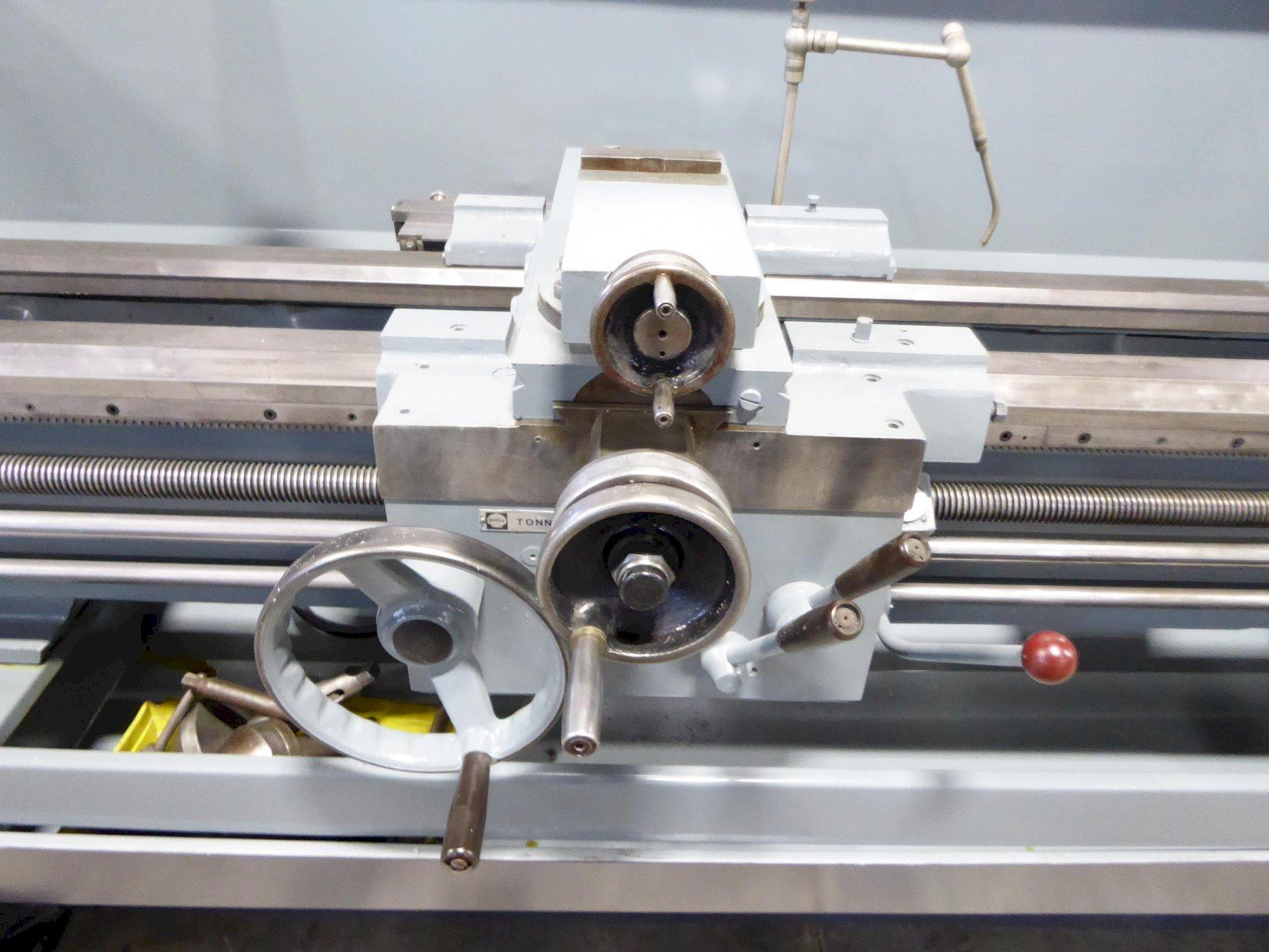 """17"""" x 80"""" Clausing Colchester Engine Lathe, 20-1600 RPM, Inch/mm, 3"""" Hole, Taper, 10 HP, Clean, Runs Nice"""
