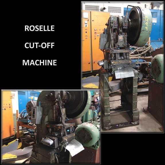 """10 Ton x 2"""" Rouselle Mod. 1A Press"""