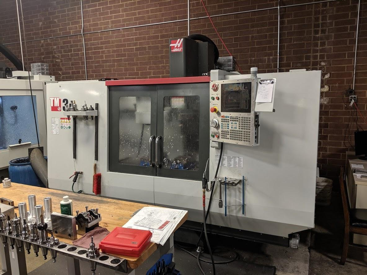 2016 Haas TM3P Vertical Machining Center, 40