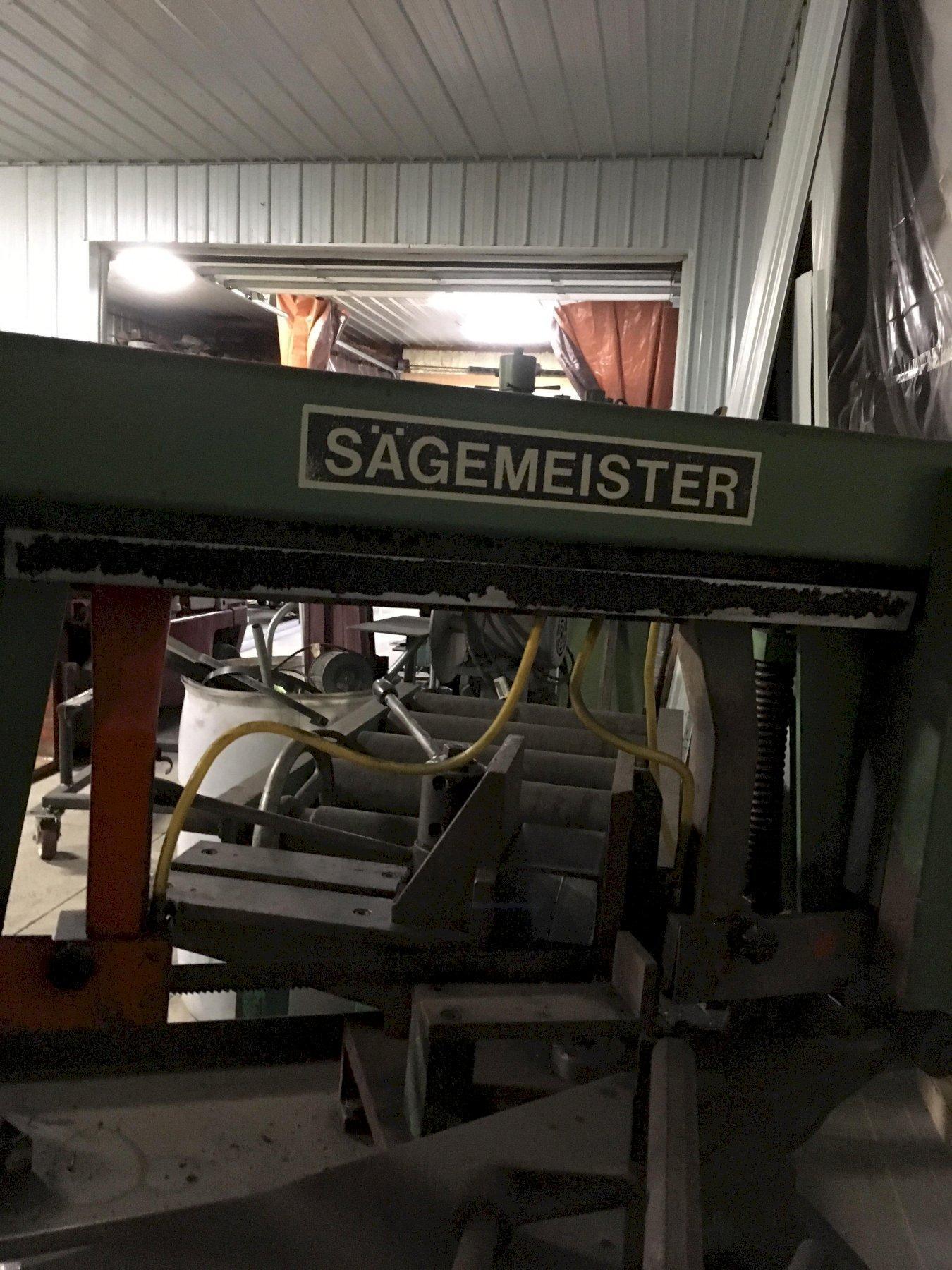 "12"" x 12"" Sagemeister Metora Swivel Head Horizontal Band Saw"