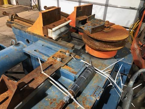 """3-1/2"""" WALLACE MODEL 500-3-1/2 HYDRAULIC TUBE & PIPE BENDER"""