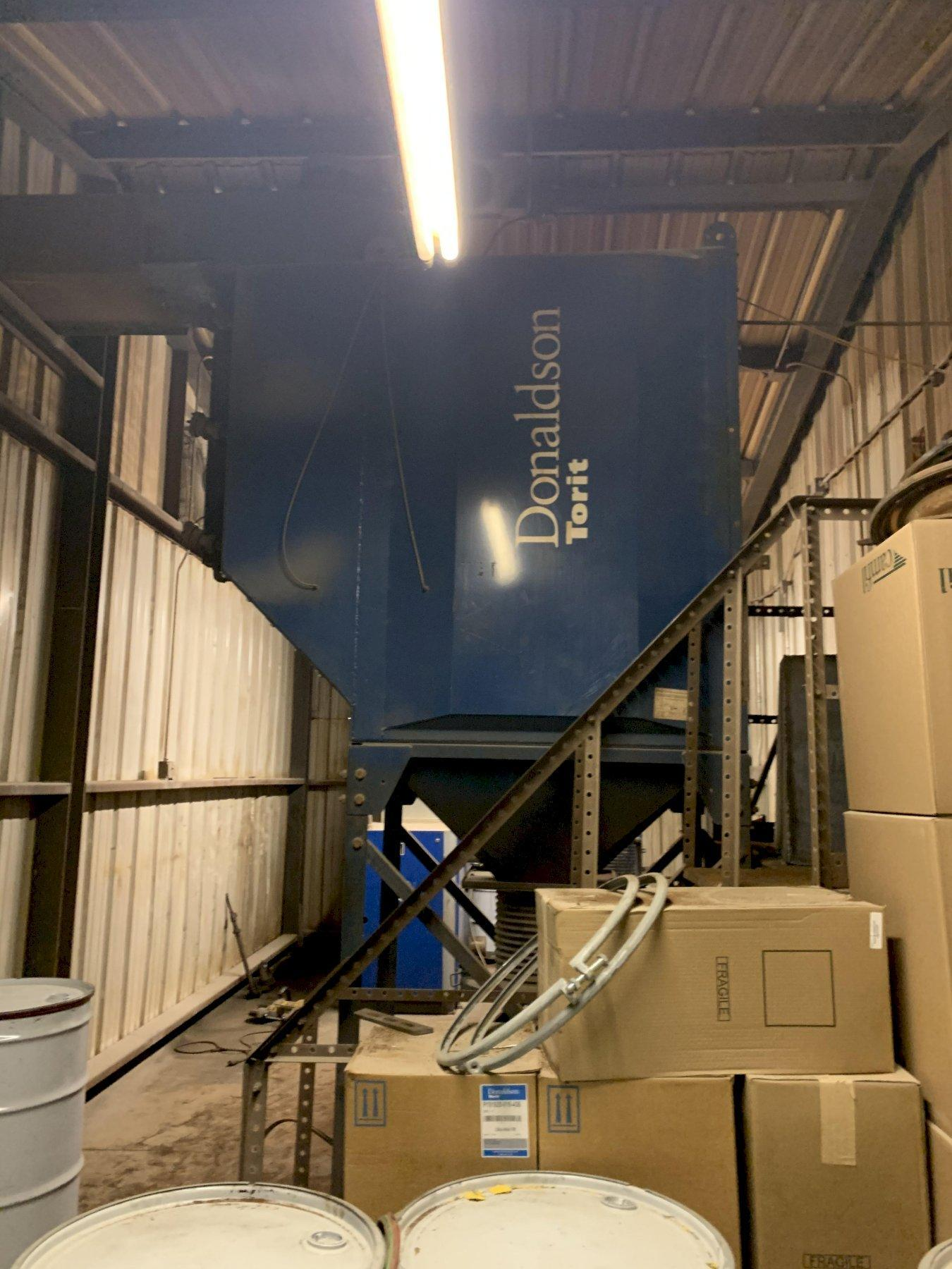 15 HP TORIT MODEL #DFO3-12 DUST COLLECTOR: STOCK 12973