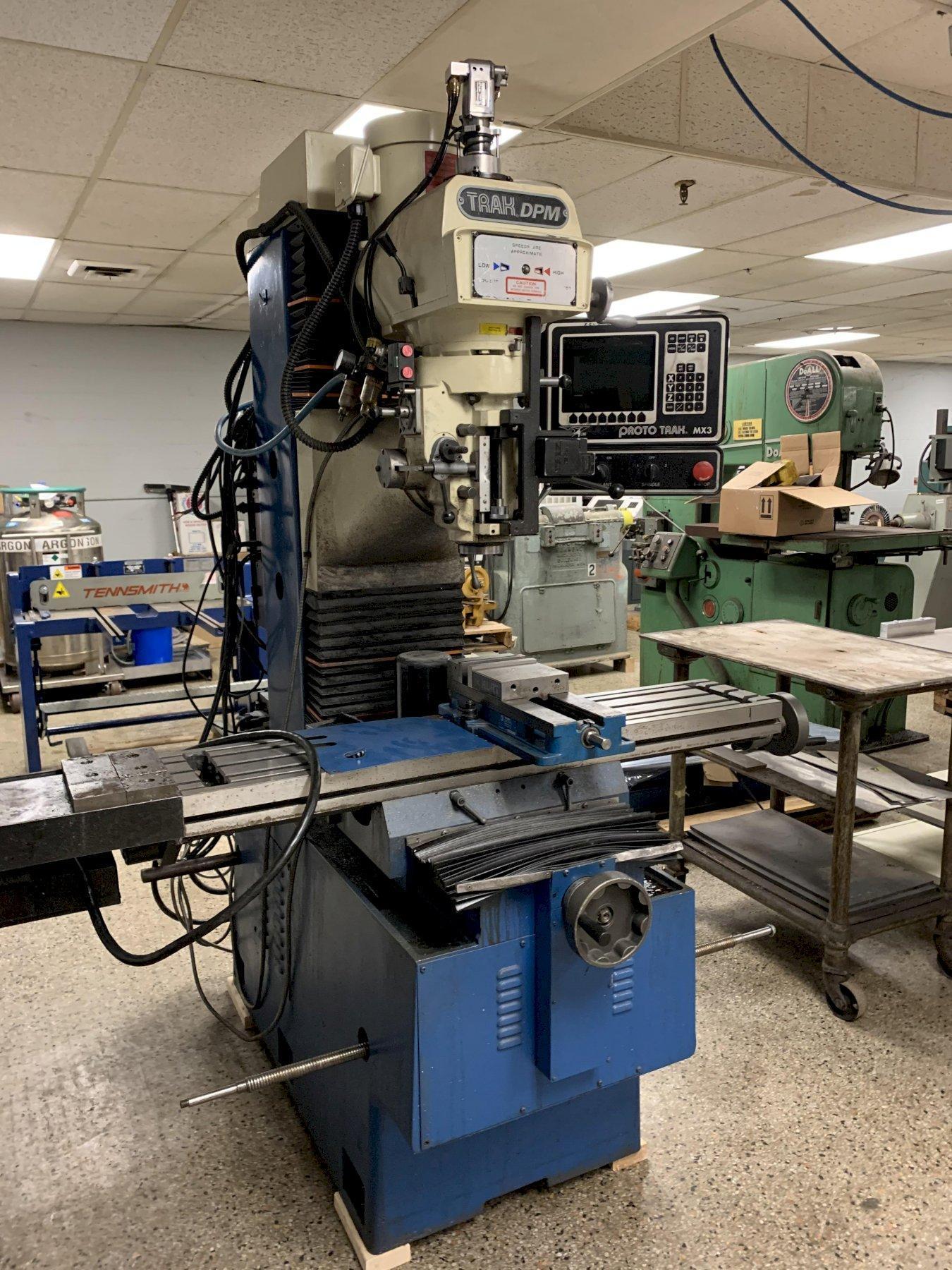 Trak DPM-3 CNC Bed Mill