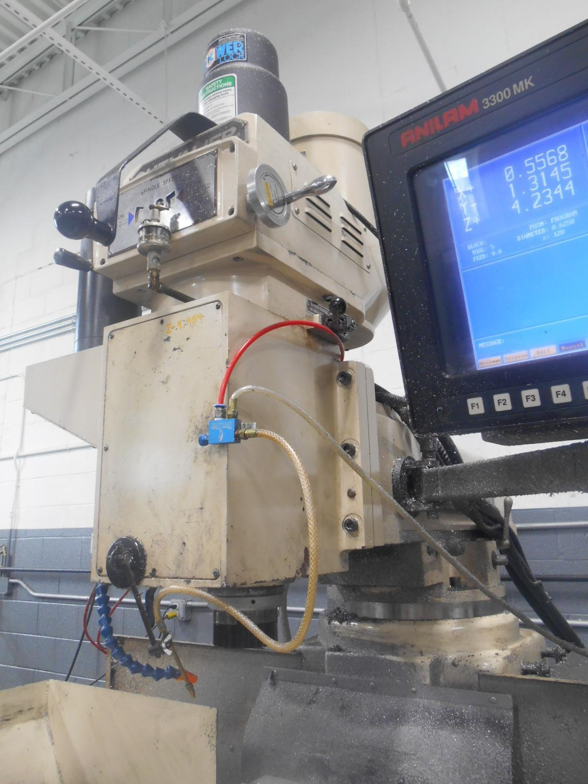 "10"" x 54"" Chevalier FM-43H CNC-3 Axis Vertical Machining Center"