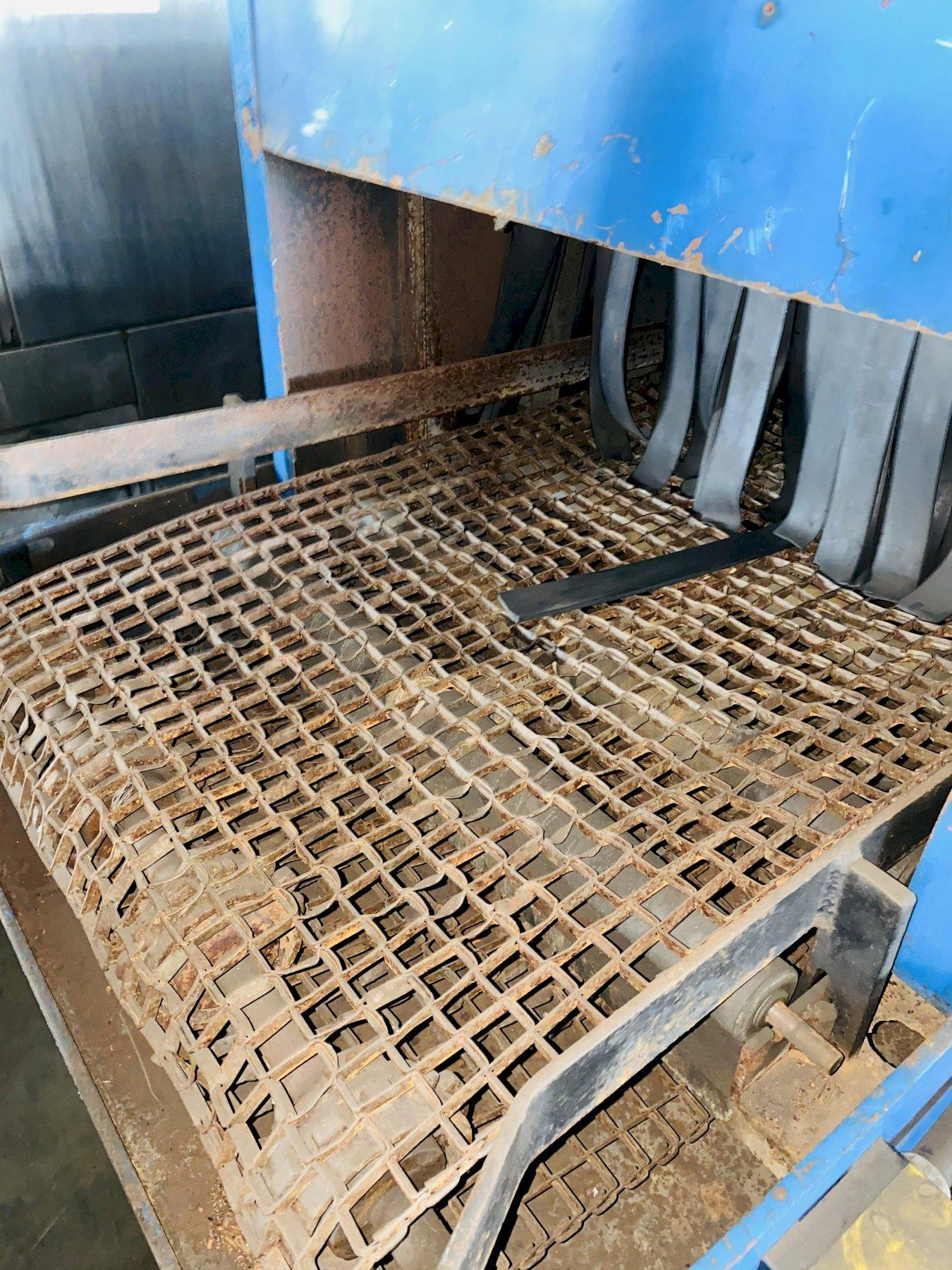 """12"""" x 24"""" INTERCONT PRODUCTS PTW-3 CONVEYOR TYPE PARTS WASHER. STOCK # 0631721"""