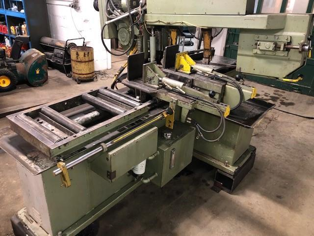 HYD-MECH MODEL S-20A AUTOMATIC MITER HORIZONTAL BAND SAW