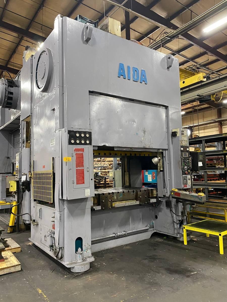 330 ton Aida SMX-II-S2-300 (1)Straight Side Press New 1994