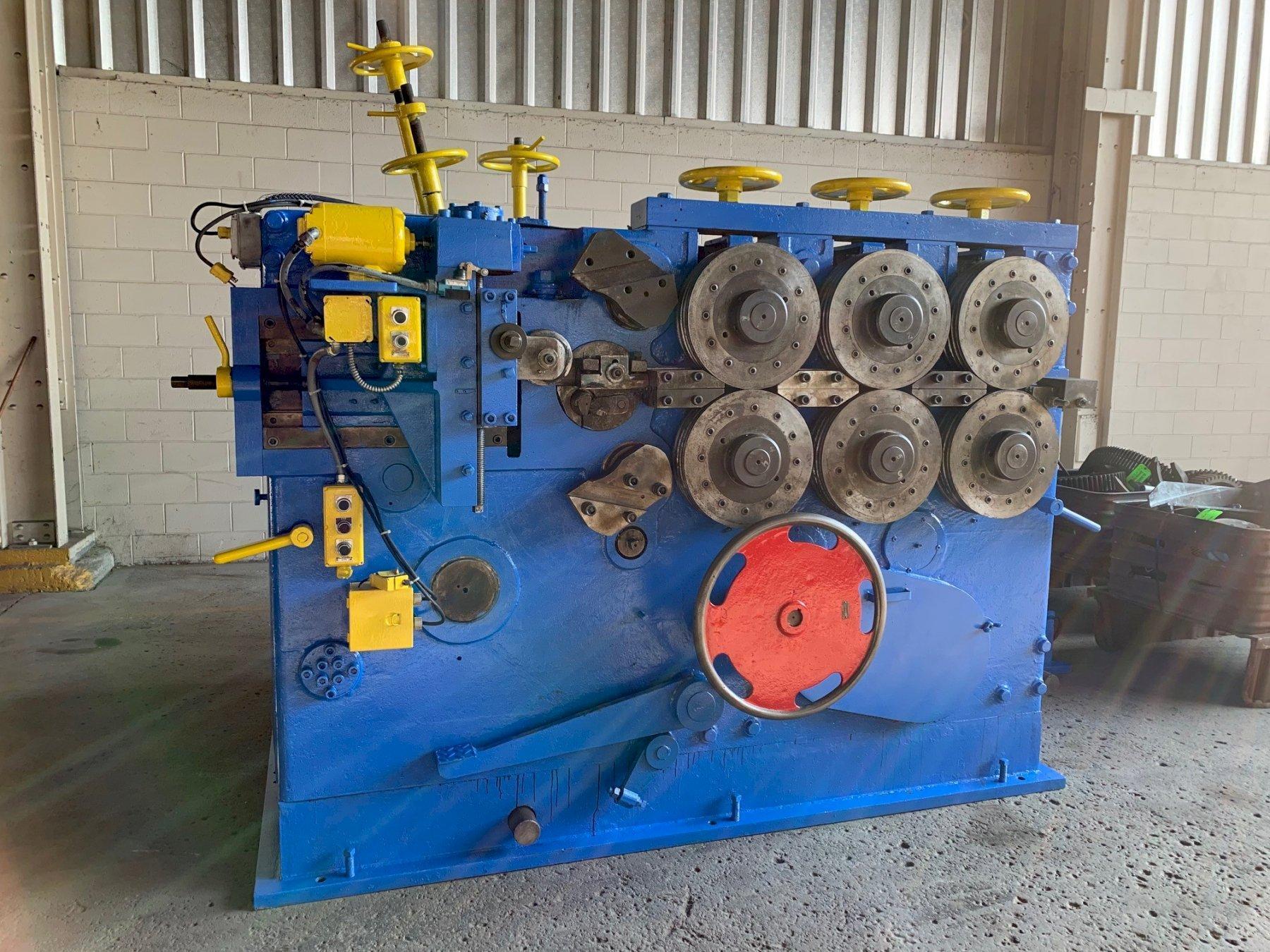 """3/4"""" Torrington Model #W25 Spring Coiler Machine: STOCK 11287"""