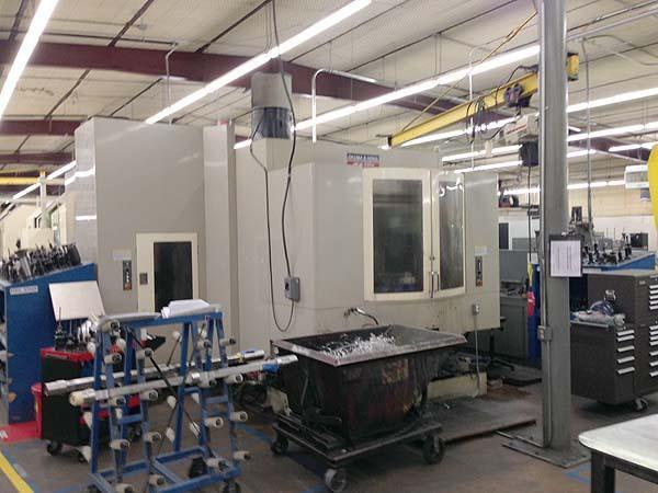 "OKUMA HOWA Millac 630H, Fanuc 16iM CNC, (2) 24.8"" Pallets, X=40"" Y=32"", Z=32"", Full Contouring 4th Axis Pallet Rotation, Thru Spindle Coolant, Probes, Cat-50, 8000RPM, New 2005."