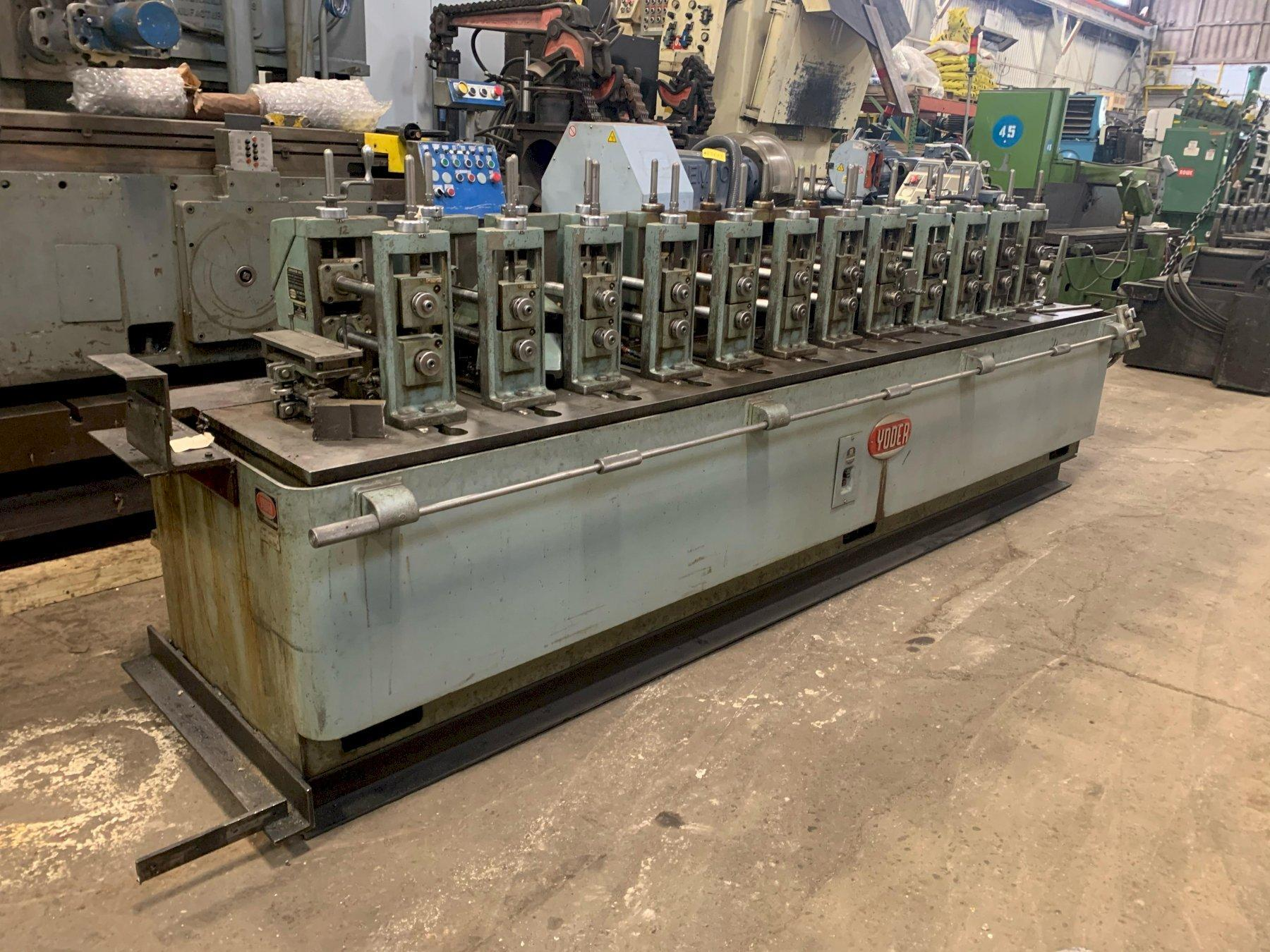 """12 STAND X 1.5"""" YODER M1-1/2  ROLLFORMER: STOCK #13720"""