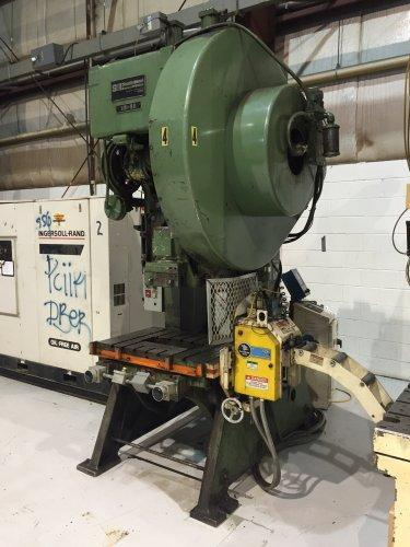 80 Ton SB Johnson, 80-FW-AC,  OBI Press